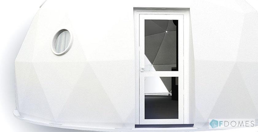 Fドームグランピング ガラスドア