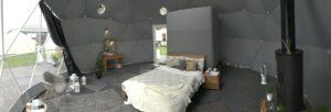 グランピングドーム採光窓オプション